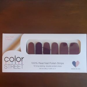 Color Street 'New York Minute' Purple Nail Strips